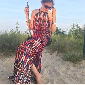 London Times Sleeveless Maxi Dress